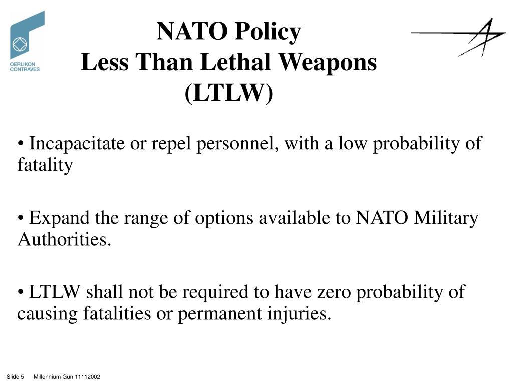 NATO Policy