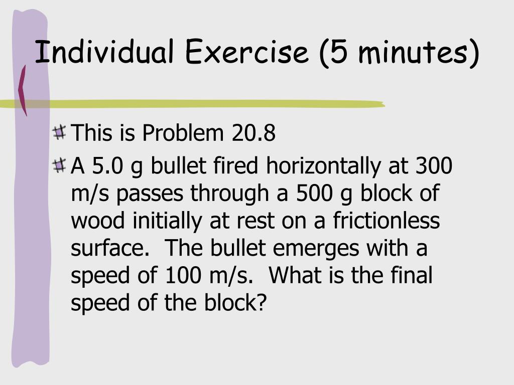 Individual Exercise (5 minutes)
