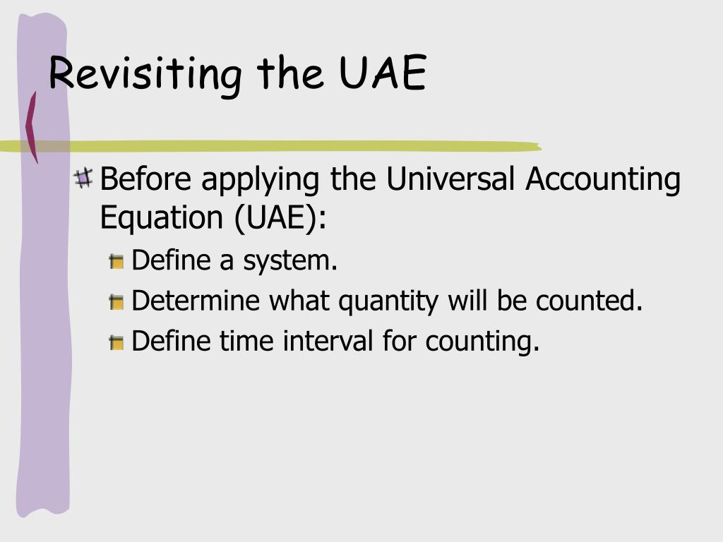 Revisiting the UAE
