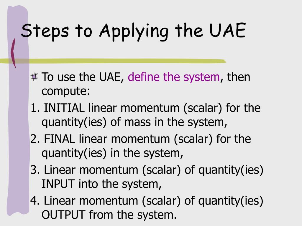 Steps to Applying the UAE