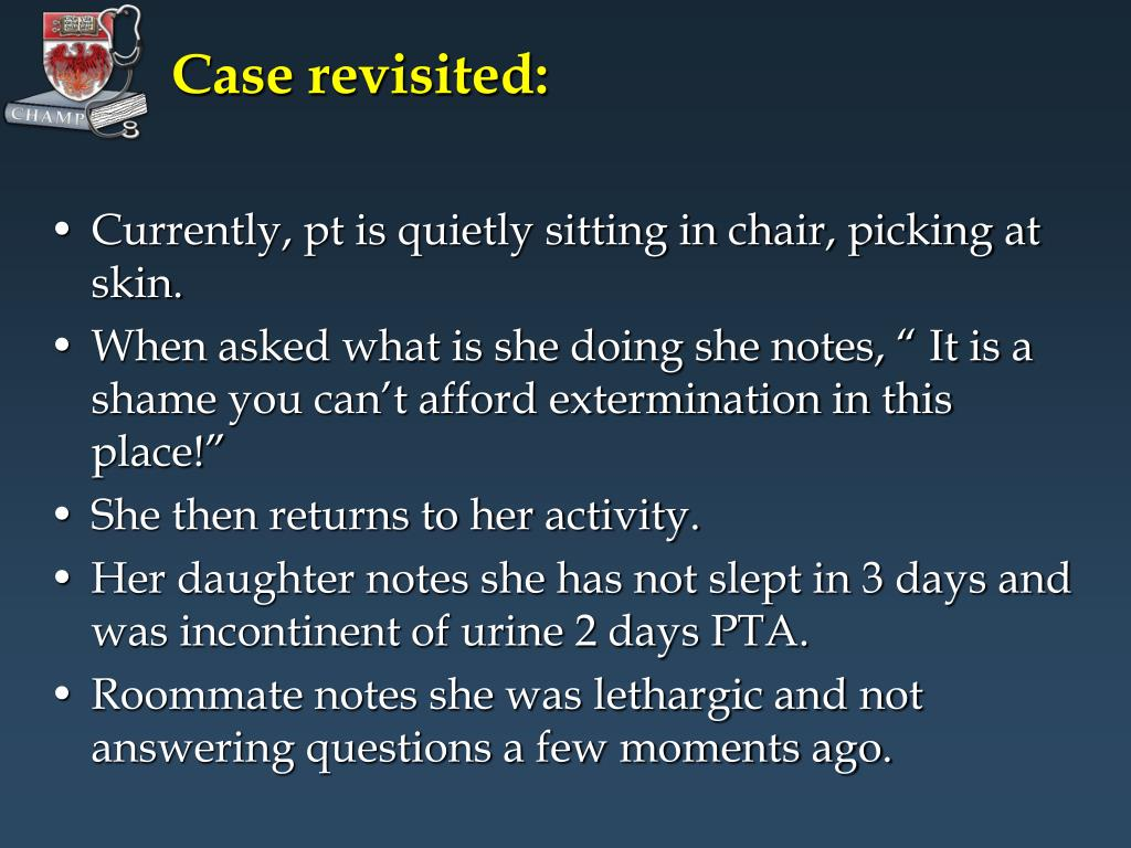 Case revisited: