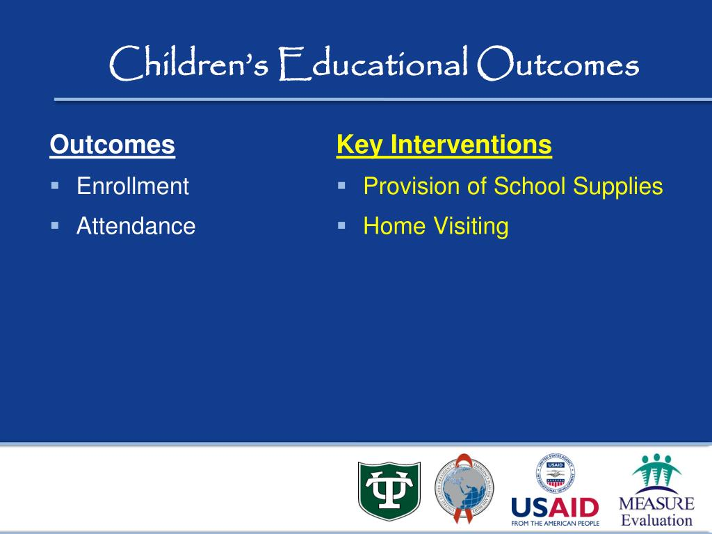 Children's Educational Outcomes