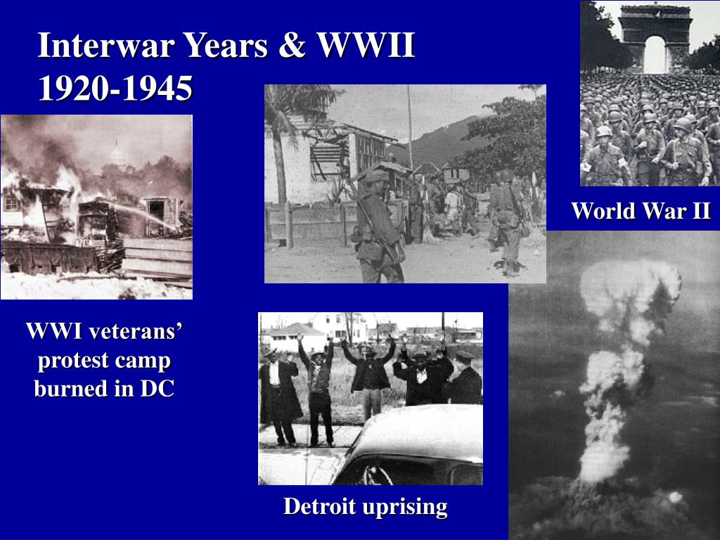 Interwar Years & WWII