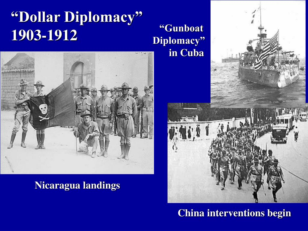 """Dollar Diplomacy"""