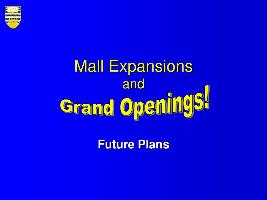 Mall Expansions