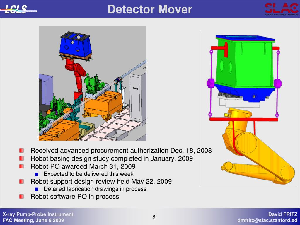 Detector Mover
