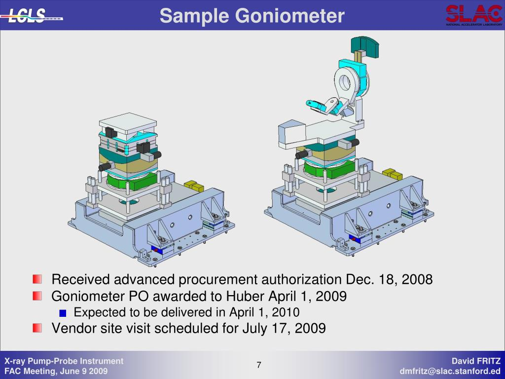 Sample Goniometer
