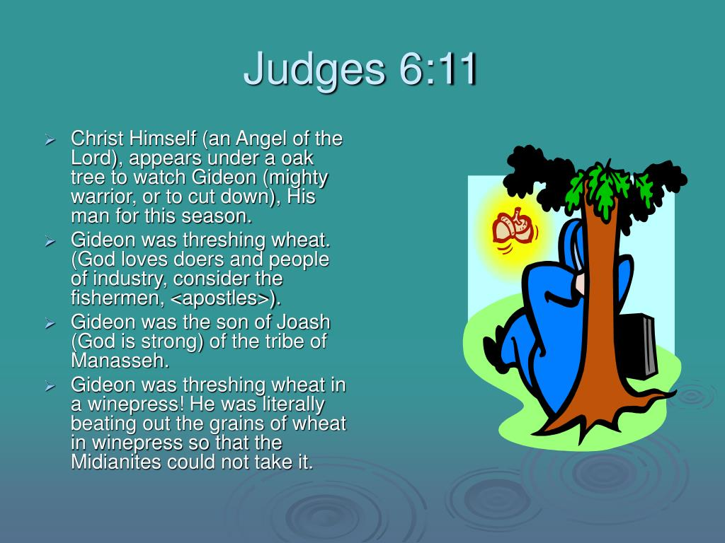 Judges 6:11