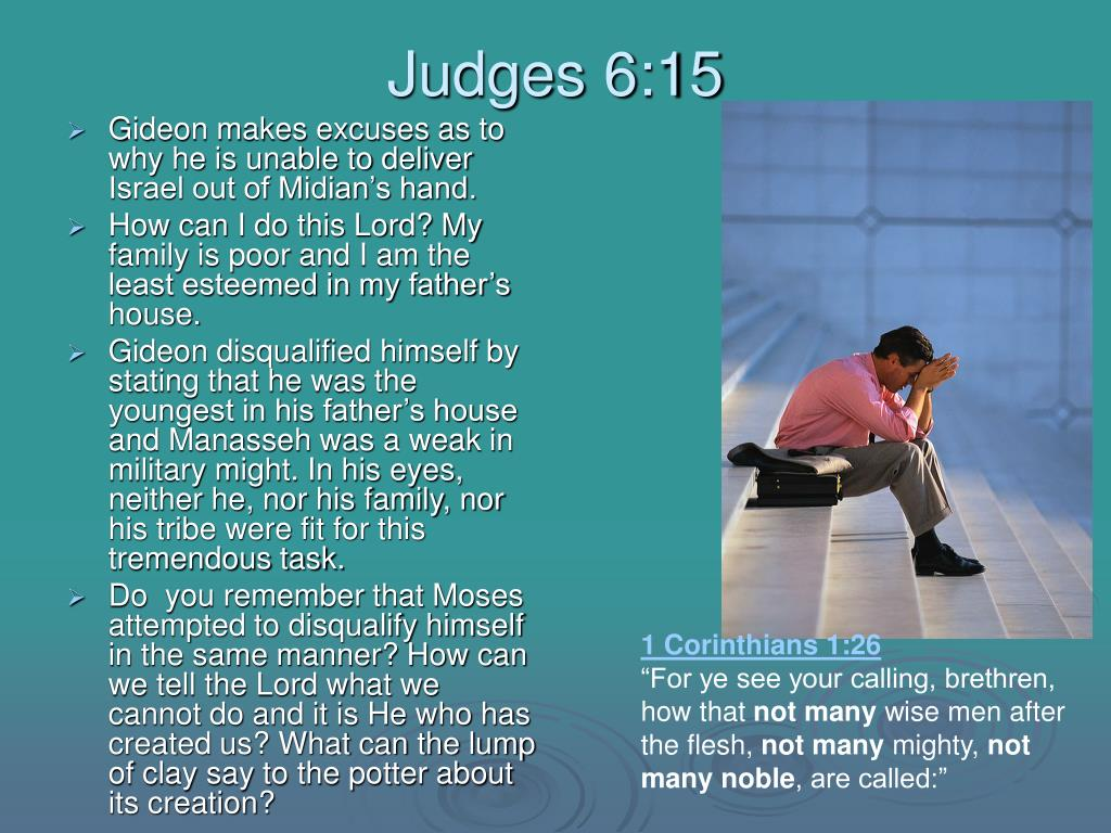 Judges 6:15