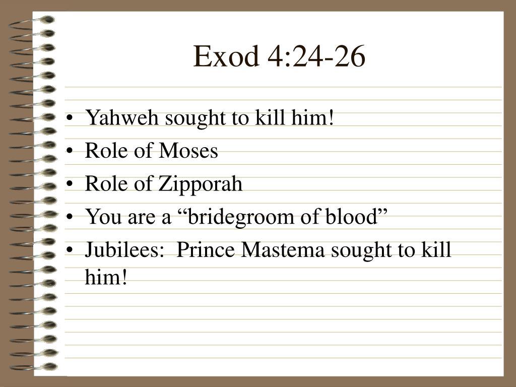 Exod 4:24-26