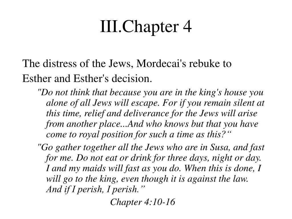 III.Chapter 4