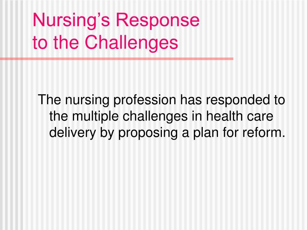Nursing's Response