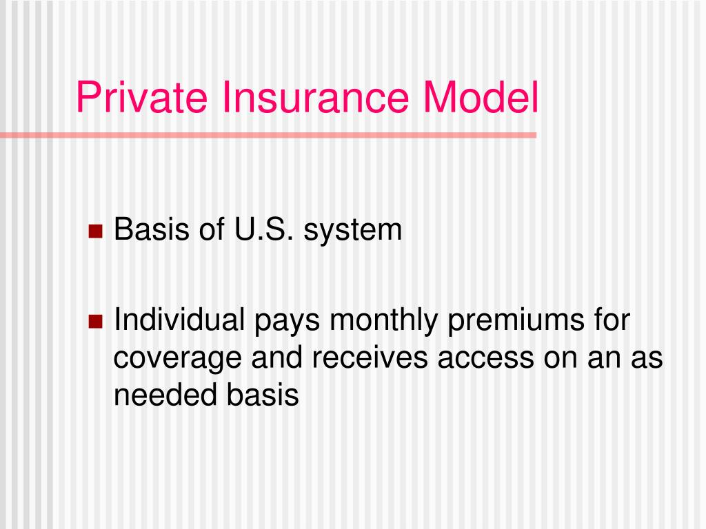 Private Insurance Model