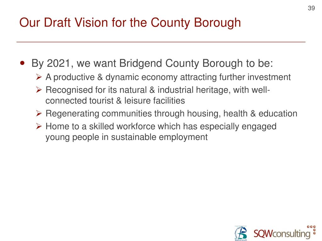 Our Draft Vision for the County Borough
