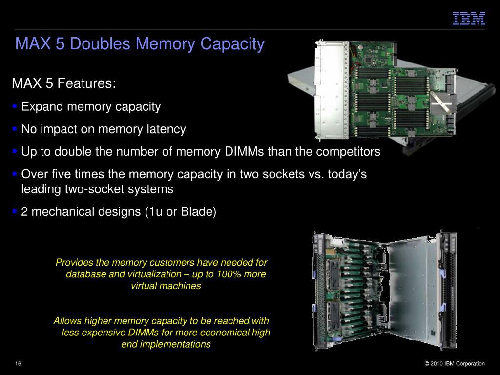 MAX 5 Doubles Memory Capacity