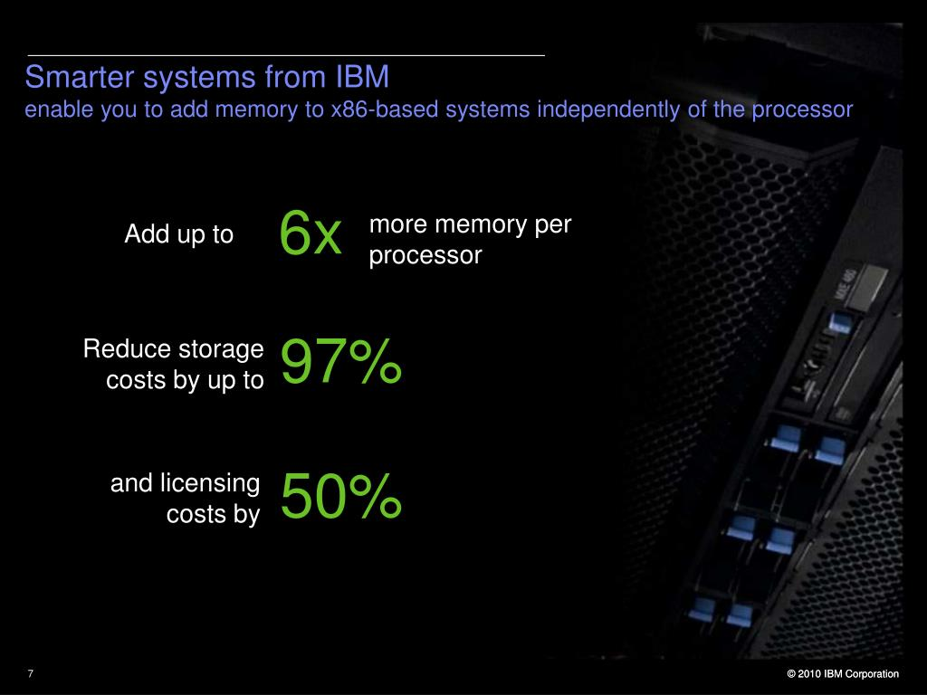 Smarter systems from IBM