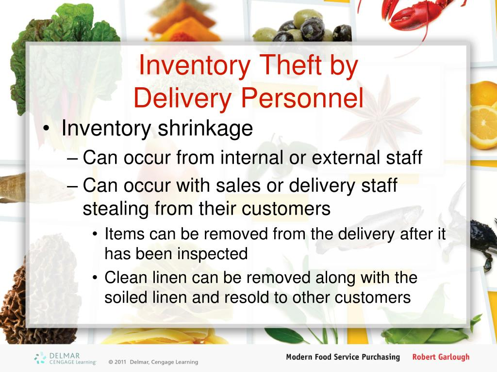 Inventory Theft by
