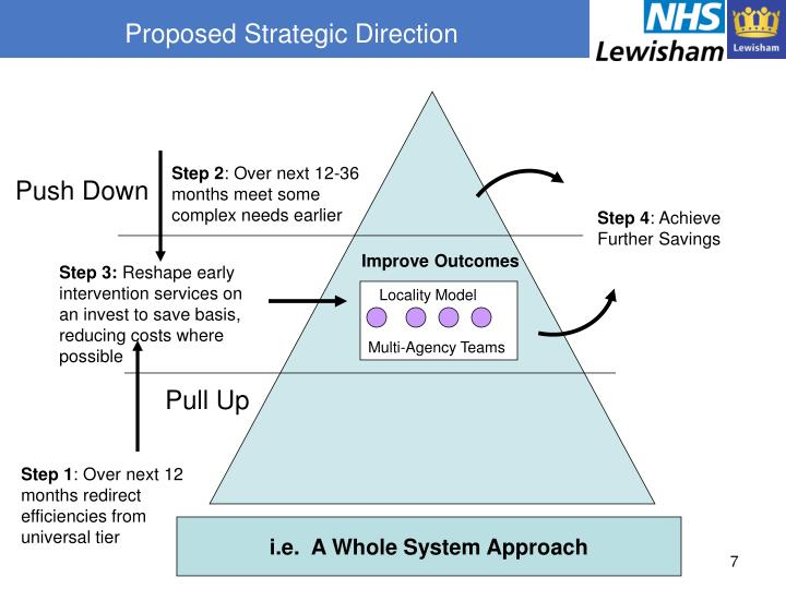 Proposed Strategic Direction