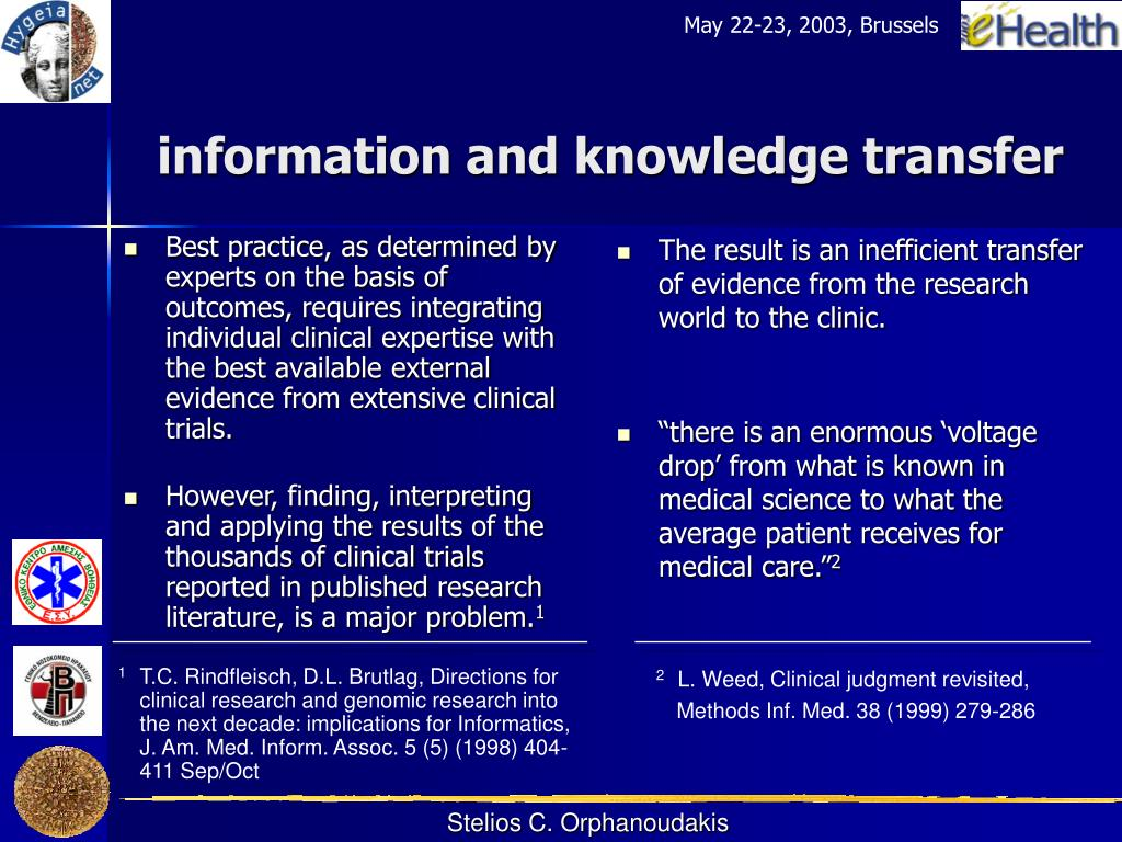 Best practice, as determined by experts on the basis of outcomes, requires integrating individual clinical expertise with the best available external evidence from extensive clinical trials.