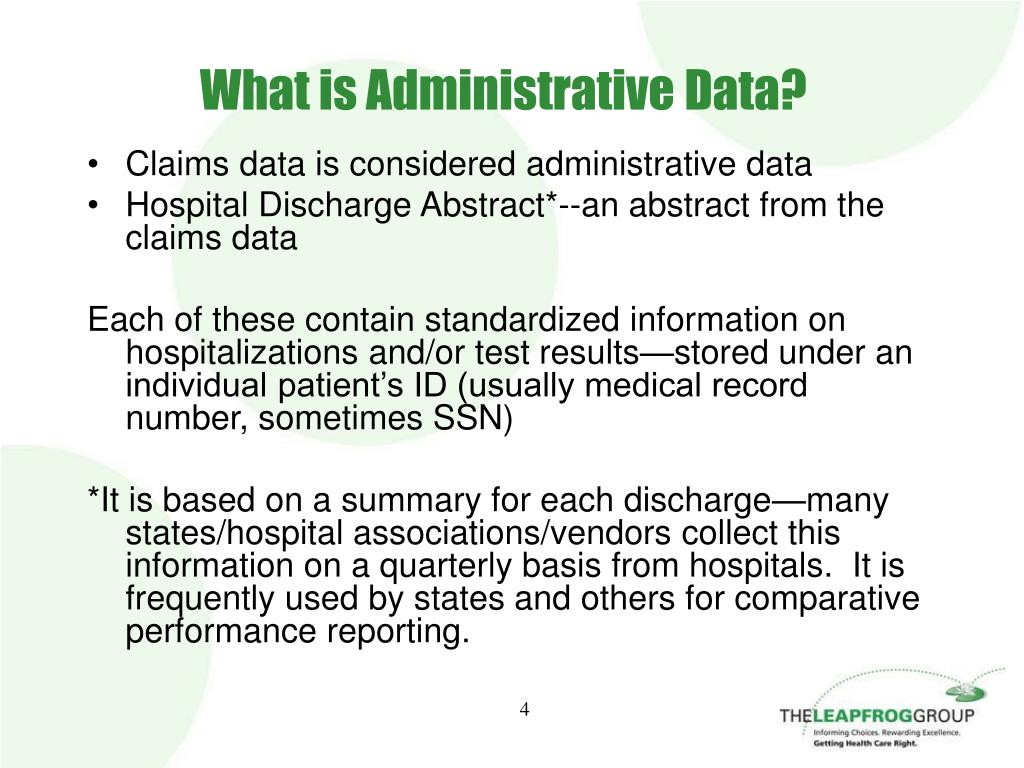 What is Administrative Data?