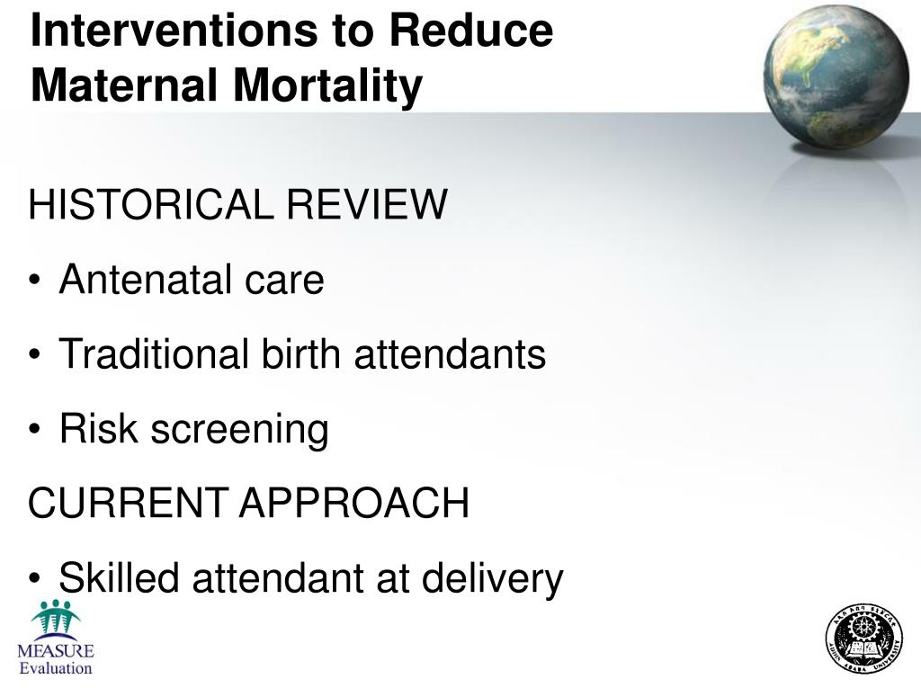 Interventions to Reduce