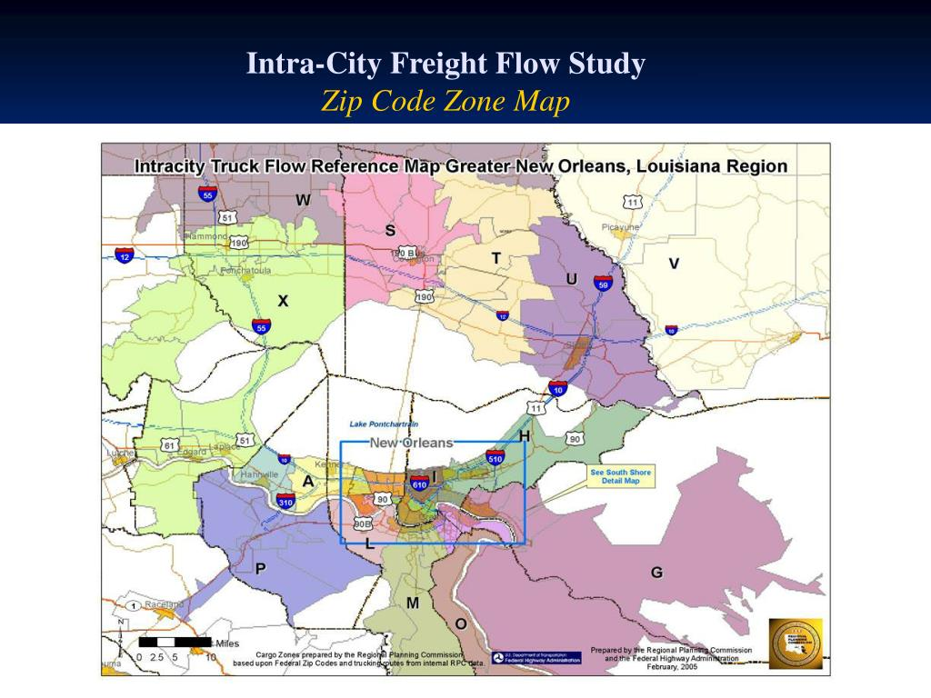 Intra-City Freight Flow Study