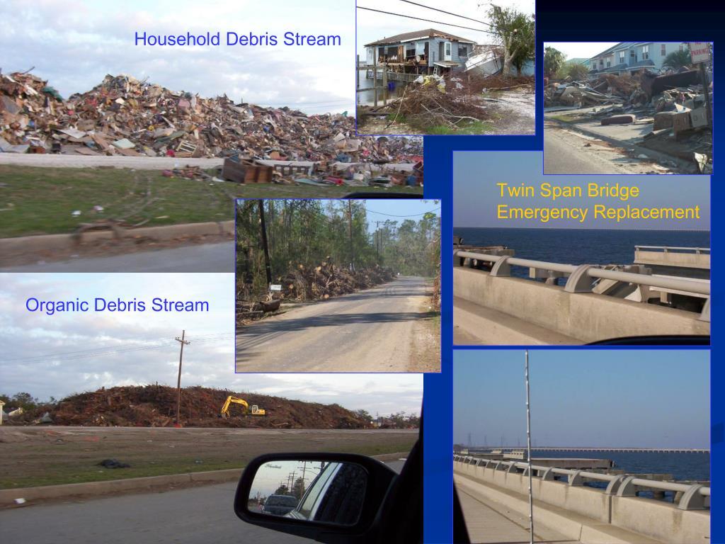 Household Debris Stream