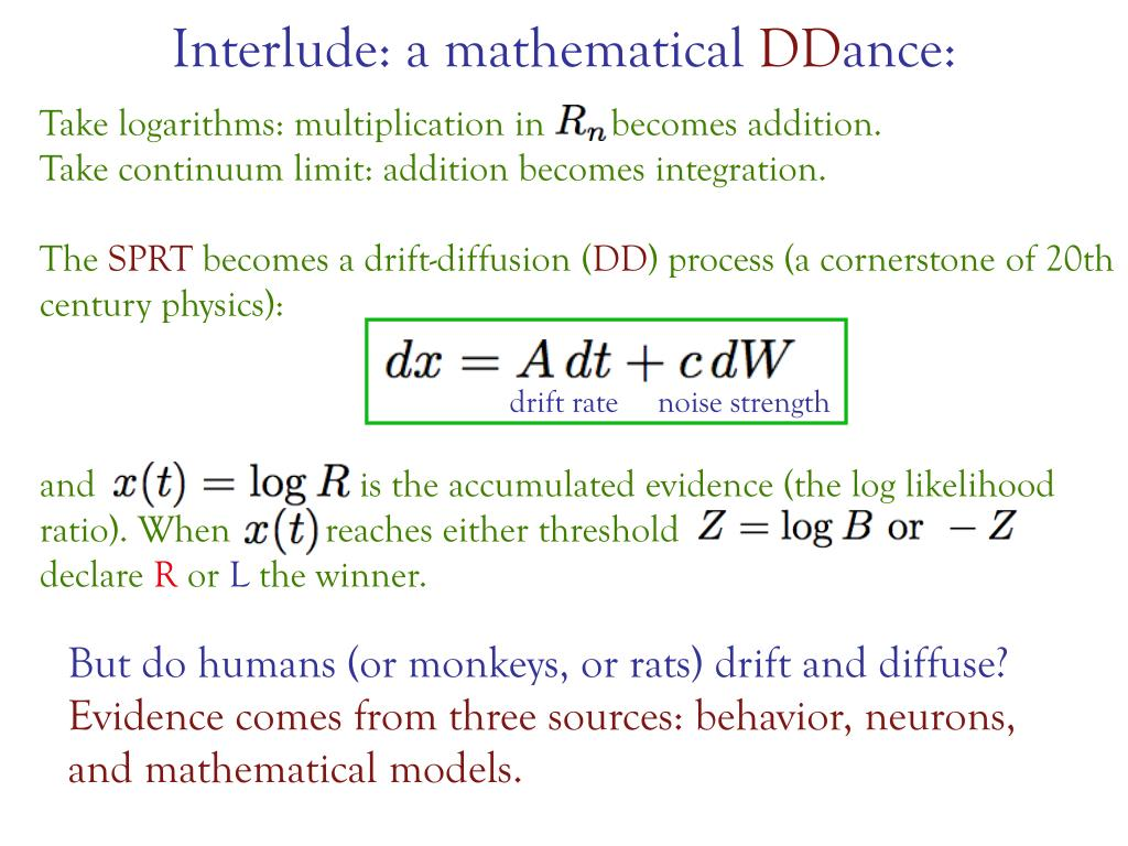 Interlude: a mathematical