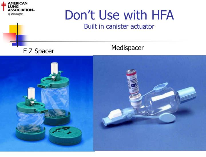 Don't Use with HFA