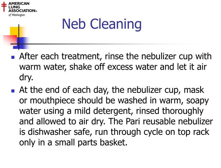 Neb Cleaning