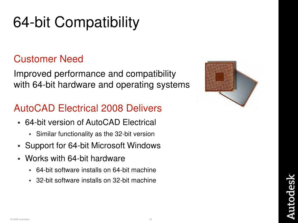 64-bit Compatibility