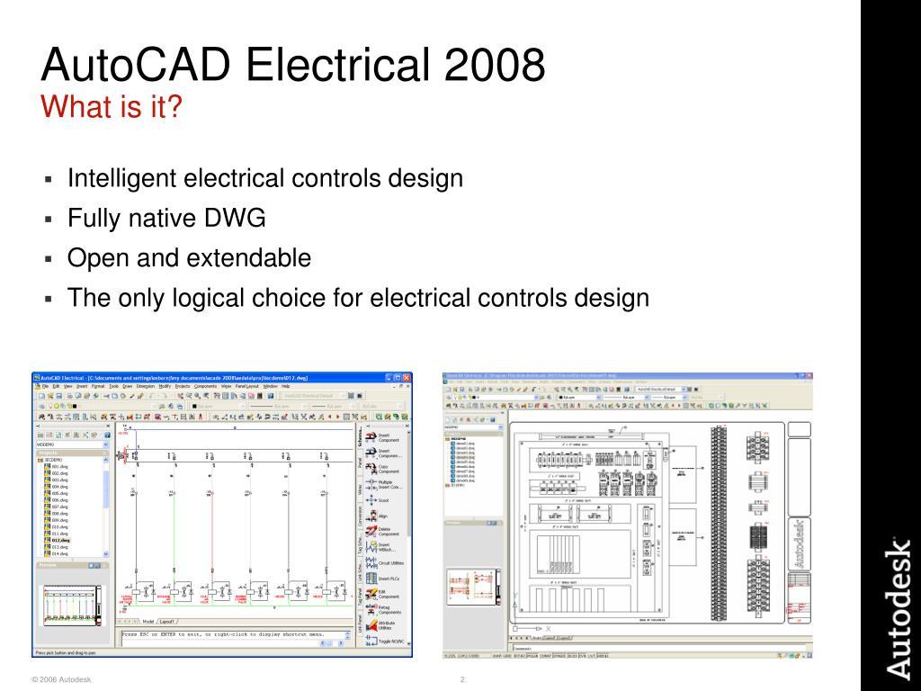 AutoCAD Electrical 2008