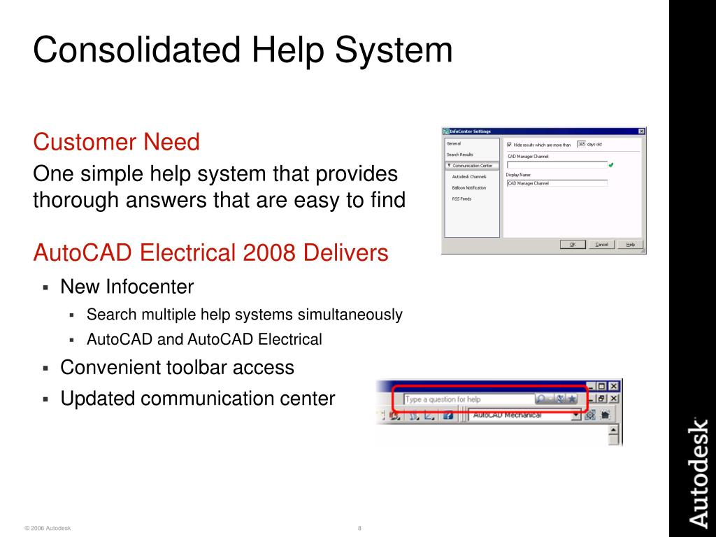Consolidated Help System