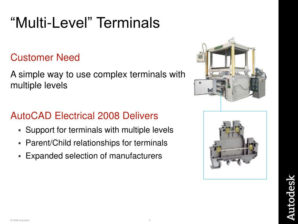 """""""Multi-Level"""" Terminals"""