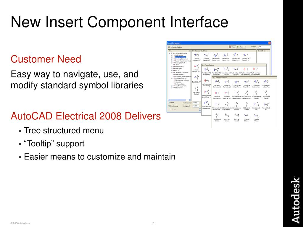 New Insert Component Interface
