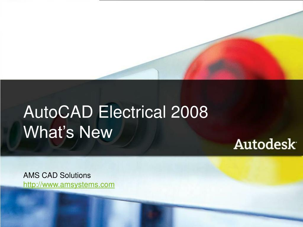 AutoCAD Electrical 2008 What's New
