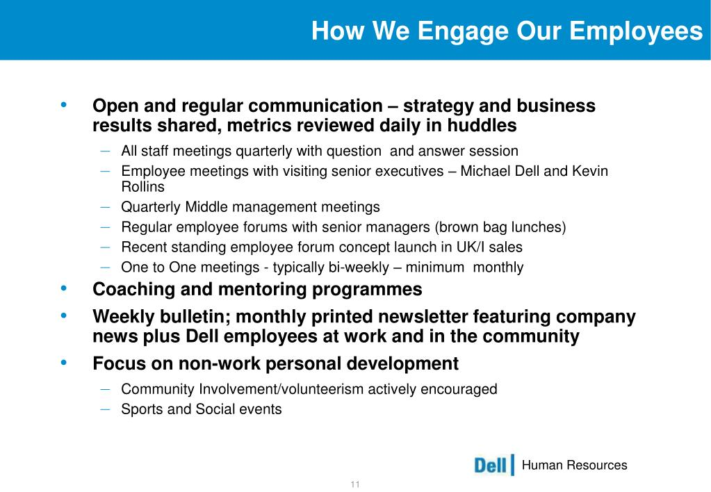 How We Engage Our Employees