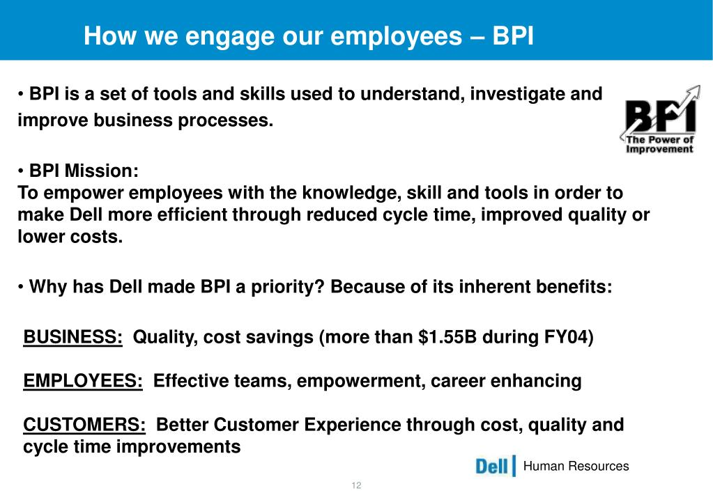 How we engage our employees – BPI