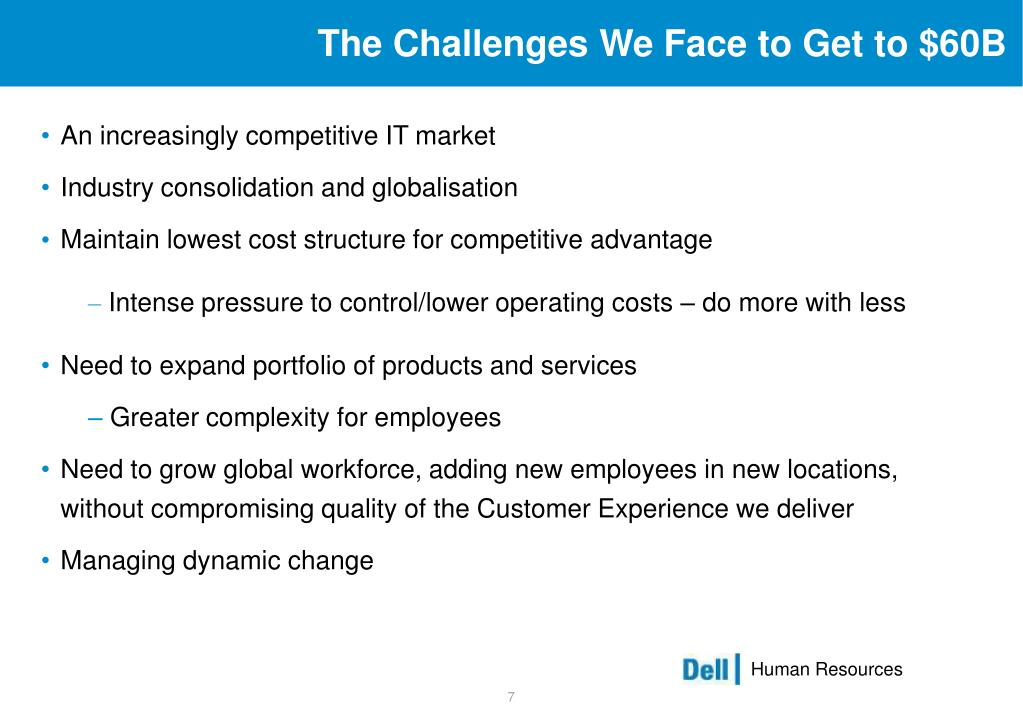 The Challenges We Face to Get to $60B