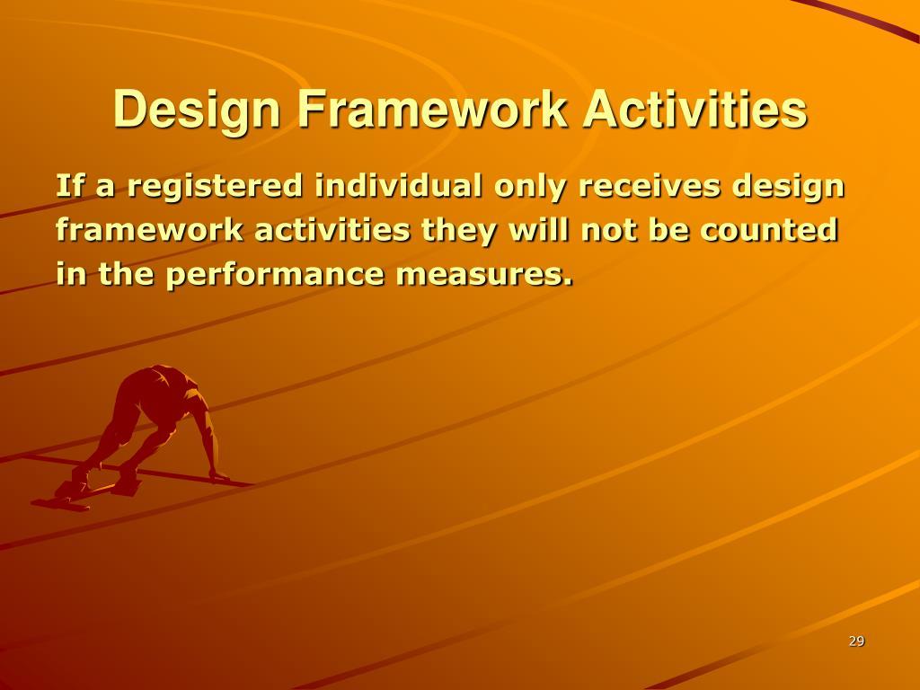 Design Framework Activities