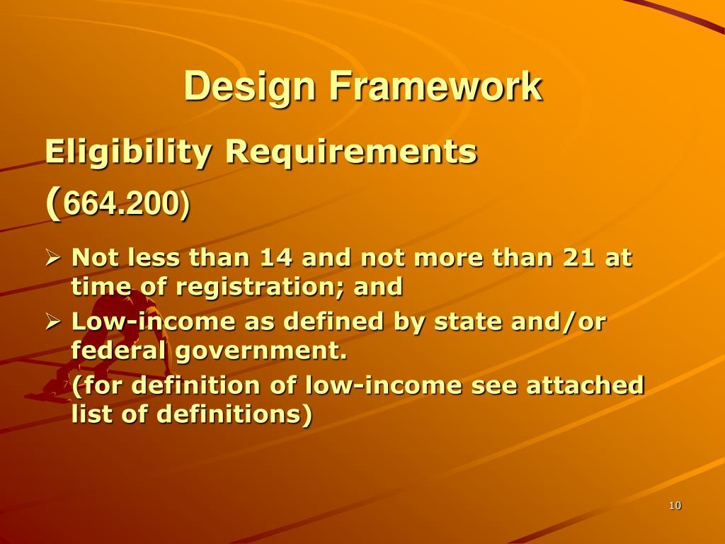 Design Framework