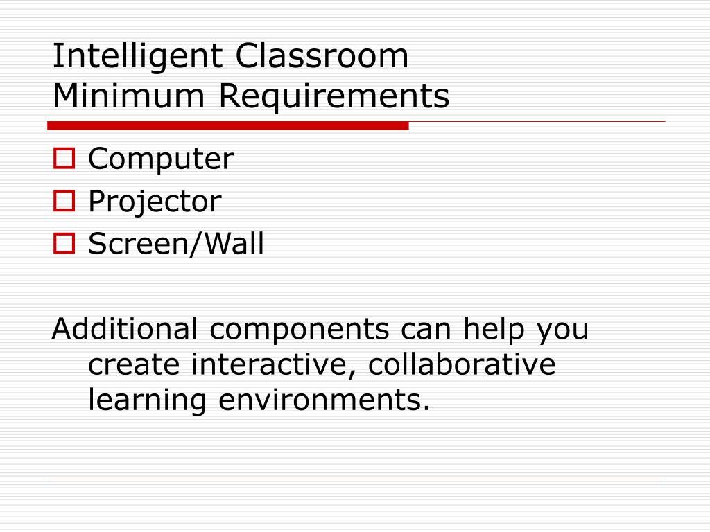 Intelligent Classroom