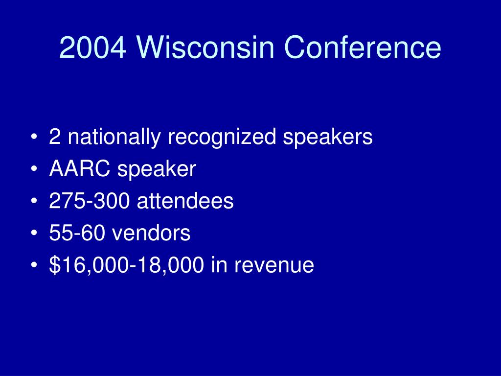 2004 Wisconsin Conference