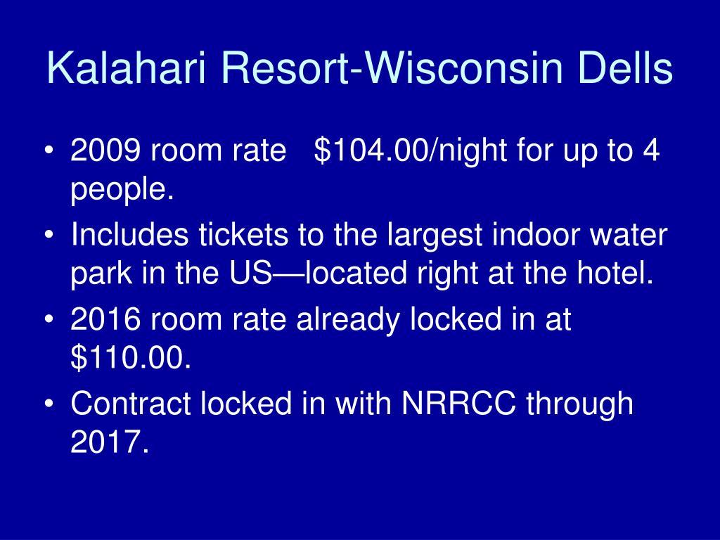 Kalahari Resort-Wisconsin Dells