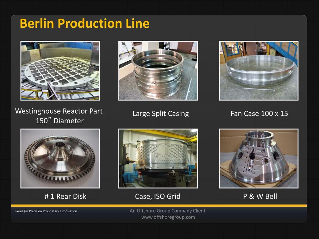 Berlin Production Line