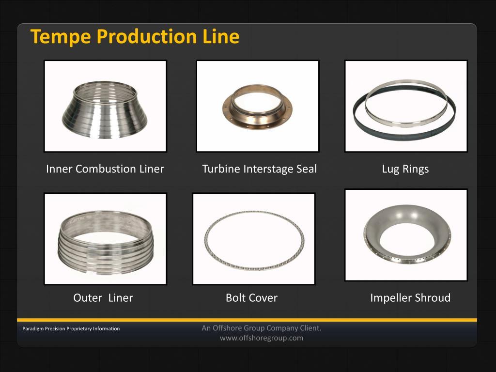 Tempe Production Line