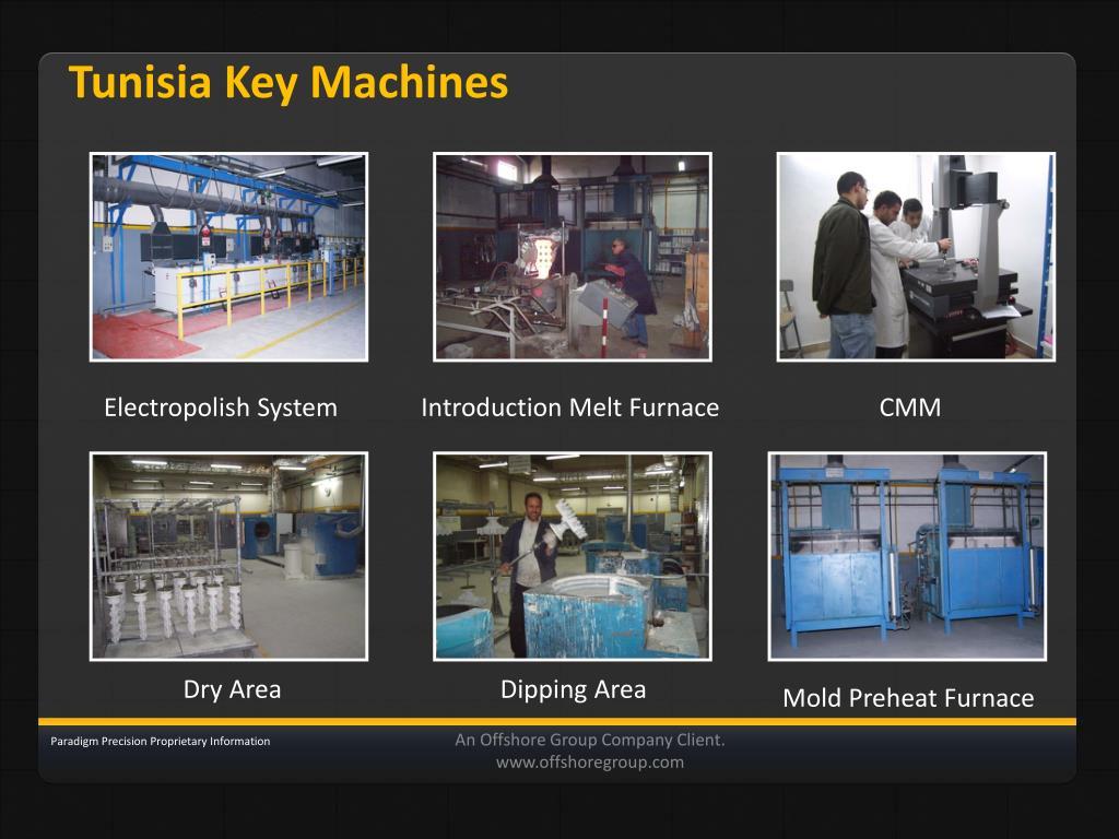 Tunisia Key Machines