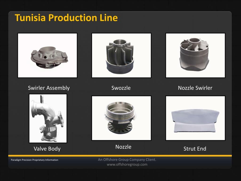 Tunisia Production Line
