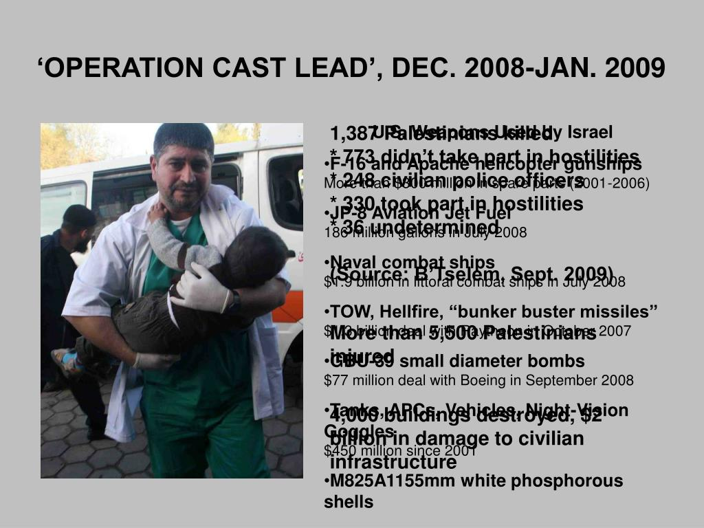 'OPERATION CAST LEAD', DEC. 2008-JAN. 2009