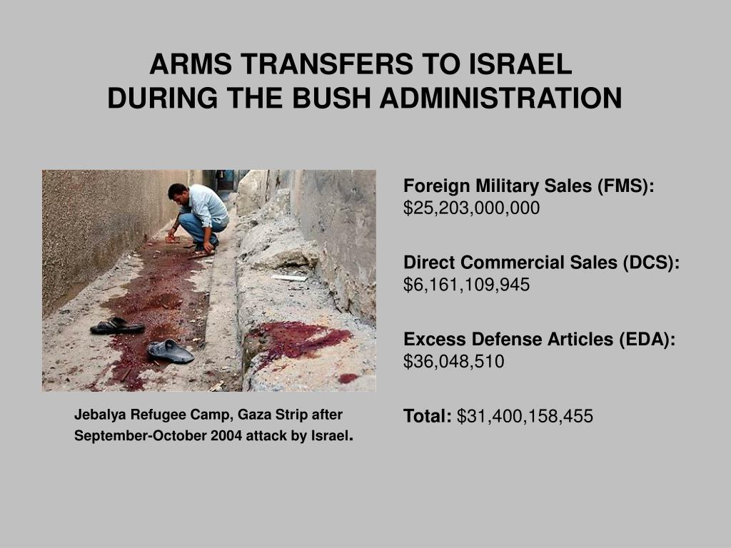 ARMS TRANSFERS TO ISRAEL